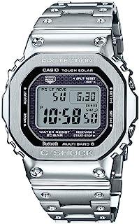 Casio 卡西欧 G-Shock GMW-B5000D-1 连接坚固的太阳能不锈钢手表 GMWB5000D-1 GMW-B5000D-1CR