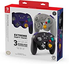 PowerA Extreme Party Pack 无线控制器 Nintendo Switch - GameCube 风格:3 包 - Nintendo Switch