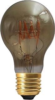 Girard Sudron 716662-LED GLS A60 LED 环形灯丝灯泡,E27(ES爱迪生螺丝盖),暖白色,160流明,可调光,4瓦,烟熏色