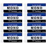 蜻蜓铅笔 橡皮擦 MONO PE04 MONO PE04 (100尺寸) 8个 MONOPE04 8个