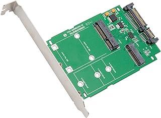 Syba SI-ADA50067 M.2 (NGFF) & mSATA SSD to SATA III Adapter