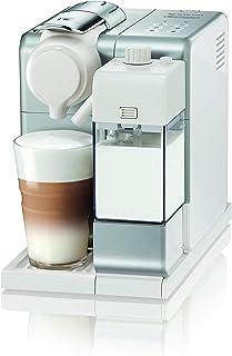 De'Longhi 德龙 Lattissima Touch 单服务胶囊咖啡机,自动起泡的牛奶,卡布奇诺咖啡和拿铁咖啡,EN560.S,银