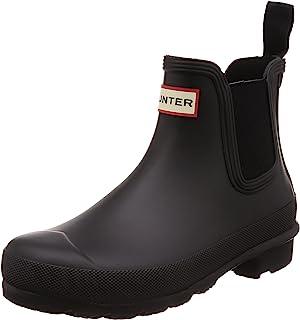 HUNTER 雨靴 WOMENS ORIGINAL CHELSEA 女士 黑色 23.0 cm