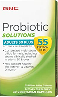 GNC 健安喜 Probiotic Solutions 50 岁以上成人益生菌