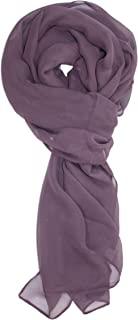 Ted and Jack - 纯色丝绸混合轻质围巾
