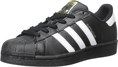 adidas 阿迪达斯 Originals Superstar 中性款 儿童运动鞋 Schwarz Weiß Schwarz 22.5 EU