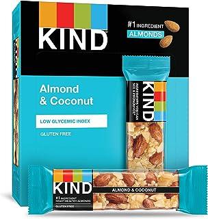 KIND 能量棒 杏仁&椰子,无麸质,1.4盎司/约40克,12支