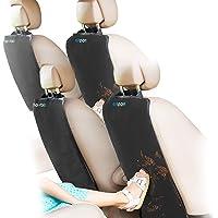 Enovoe Kick Mats - 优质汽车座椅保护垫为您的室内装饰物提供*佳防水保护,防尘、防泥、防刮 - 超大型汽…