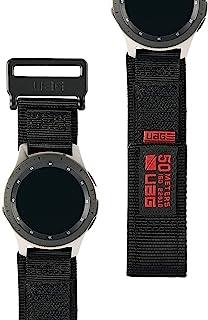 【日本正规代理店商品】URBAN ARMOR GEAR Galaxy Watch表带 Galaxy Watch 46毫米用 ACTIVE系列(黑色) UAG-GWLA-BK
