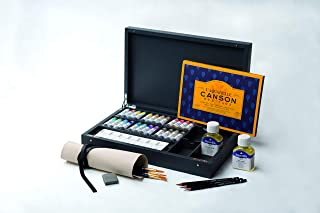 MAIMERI Blu Ash 油漆盒,24 x 12 毫升,铝管,带配件