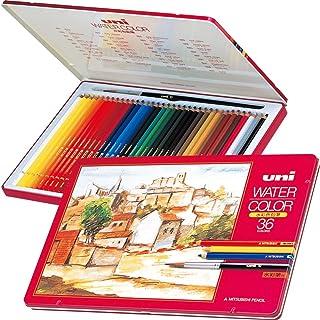 MITSUBISHI 三菱铅笔 水彩铅笔 UNI 水彩色 36色套装 UWC36C