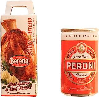 Albo Trade 微型磁性组合贝瑞塔 Stinco 烤肉和Peroni 罐装