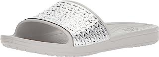 Crocs 女士 Sloane 图形蚀刻拖鞋