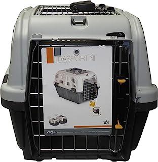 Aimé Skudo 狗猫塑料运输箱,55 x 36 x 35 厘米,1.64 千克