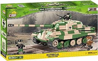 COBI 小军队 PZKPFW VI Tiger II 玩具车