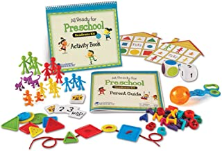 Learning Resources 为学龄前儿童准备的套件,适合家庭学校,学习计数和精细运动技能的玩具,适用于3岁以上,多色,5英寸(约12.7厘米)