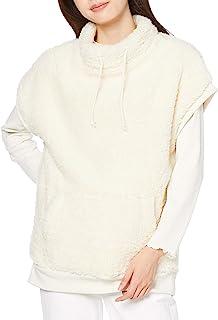 Cecile 外套 高领 毛绒背心 大口袋 蓬松柔软 毛绒外套 女士 NB-6265