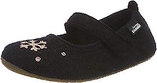 Living Kitzbühel 女童芭蕾舞鞋 冬季火焰 & 雪花 低帮家居鞋