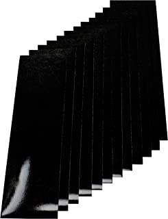 Qbc Craft 黑色反光乙烯基胶带套装 3.5 x 12 (12 pack) 黑色 ref12pk-blk