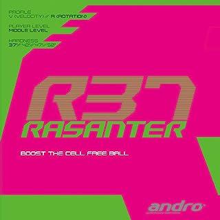 andro 乒乓球 橡胶 RASANTERR37 舒适的打球感 112286 黑色(BK) ULTRA MAX
