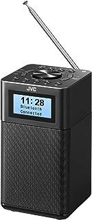 JVC RA-C80BT-B 小型桌面收音机 支持宽频FM蓝牙® AC/干电池2电源对应 黑色