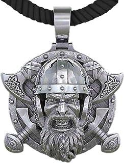 Collection Nordic Viking Tomahawk 男士吊坠项链