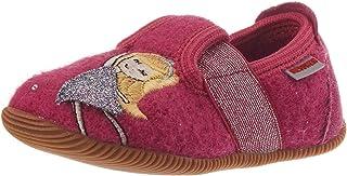GIESSWEIN 儿童家居鞋 Schönerlinde - 修身版型 - 保暖毛毡拖鞋 | 固定橡胶鞋底 | 弹性宽度 | 防滑