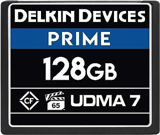 Delkin Devices 128GB Prime CompactFlash VPG-65 存储卡