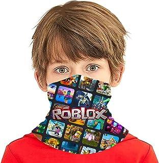 视频游戏头巾儿童颈部绑腿防紫外线面罩防风面罩 3D 印花巴拉克拉法帽运动头带