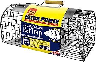 Selfset 多捕捉老鼠陷阱(人性化,耐用,现成使用的诱饵捕虫器,*多可捕捉 5 个老鼠,适合室内和室外使用) TVS080
