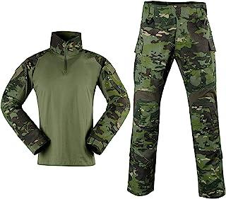 SINAIRSOFT 战术战斗裤衬衫 美国*彩弹球 BDU Gen3 制服快速突击袖修身长袖上衣制服