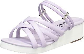 [パルフェ] 5.5cm楔形鞋跟 美腿*凉鞋 办公室凉鞋 17017