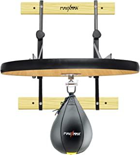 MaxxMMA 重型可调速度袋防水台套件 24 英寸 + 速度球(25.4 厘米 x 17.78 厘米)