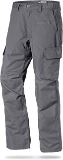 LA Police Gear 男式都市行动战术工装裤 - 弹性 WB - YKK 拉链 灰色 40W x 30L