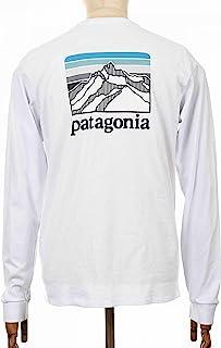 Patagonia 男式 M's L/S Line Logo Ridge Responsibili T 恤