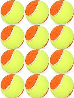 儿童泡沫网球沙滩网球初学者儿童青少年训练练习幼儿使用球12 件装