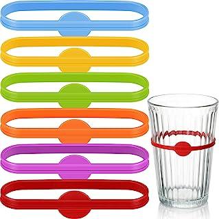 36 件饮料马克笔 啤酒玻璃杯 马克笔 酒条标记 鸡尾酒玻璃瓶 饮料马克笔 适用于家庭鸡尾酒玻璃 家庭聚会婚礼