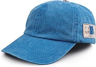 休闲男孩水洗棒球帽夏季女婴遮阳帽幼儿儿童遮阳帽 2-6 岁