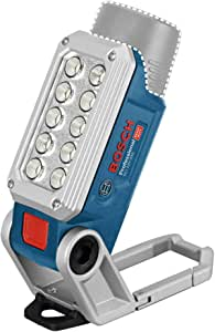 Bosch 博世 Professional LED探照灯 12V系统电池 GLI 12V-330 (330流明,工作时间:180min/Ah,不含电池和充电器,箱装)
