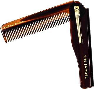 Kent 20T 限量版所有粗毛顺发梳,宽齿口袋梳,适用于厚卷发波浪发。柔顺梳子适用于梳发、胡须和胡须,锯齿切割。英国制造
