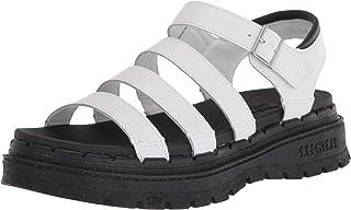 Skechers 女士厚底渔夫凉鞋