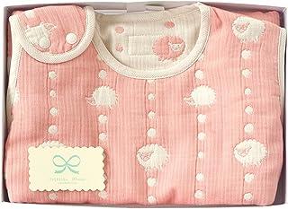 Hoppetta 6层纱布睡袋 礼品套装 粉红色 (儿童尺寸) 18111043