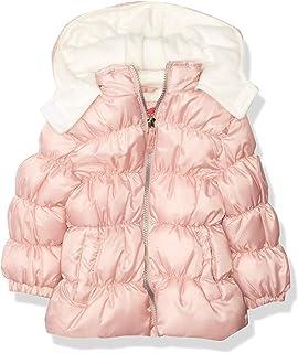 Pink Platinum 女婴抗撕裂羽绒服