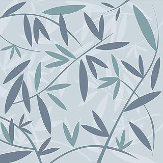 Plage 全景壁纸 250 竹 Azur,蓝色,2.5 x 2.5 米
