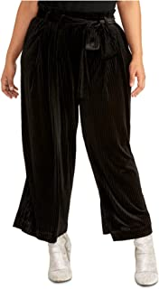 Rachel Rachel Roy 时尚大码玫瑰腰带裤黑色 0X