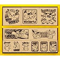 ShowaNote 口袋妖怪 印章 英语 木制 数字 SDH-119