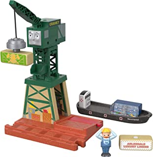 Thomas & Friends Fisher-Price 木制玩具,Cranky at The Docks