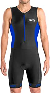 SLS3 男士铁人三项西装 FRT   三件套   紧身三件套   紧身衣 Trisuit   非常合身舒适   Sprint 至 1/2 铁人的理想选择
