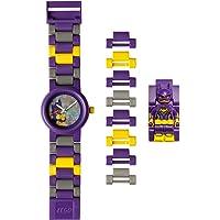 LEGO BATMAN 电影蝙蝠女儿童迷你人偶表链 buildable 手表 | 紫色/yelow | 塑料 | 28…