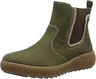 Rieker 女式 Herbst/冬季切爾西靴